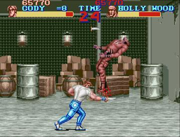 [XBLA/PSN] Final Fight : Double Impact 01_Blood_Japan