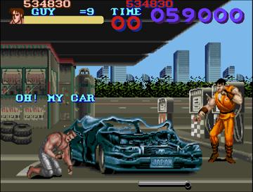 [XBLA/PSN] Final Fight : Double Impact 04_Oh_My_Car_USA